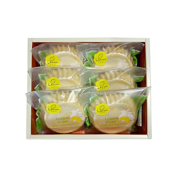 レモンケーキ 6個入/1,200円(税込)